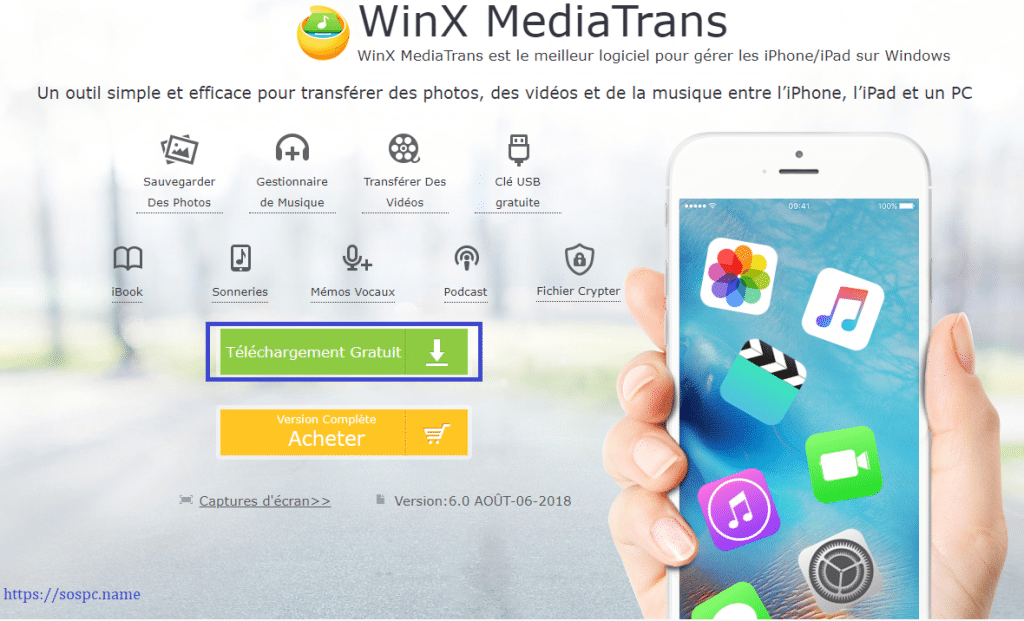 WinX MediaTrans télécharger