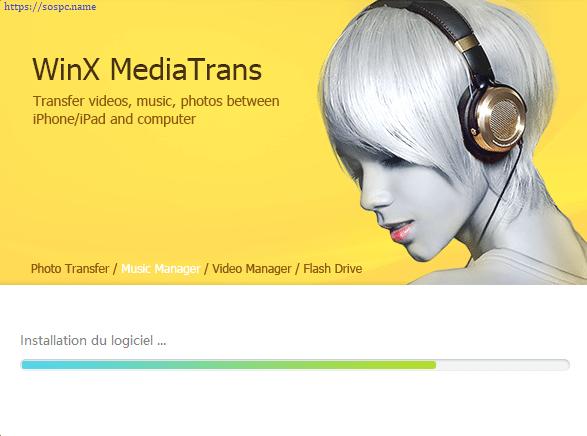 WinX MediaTrans : transférer vos photos, vidéos et musiques tutoriel capture 4
