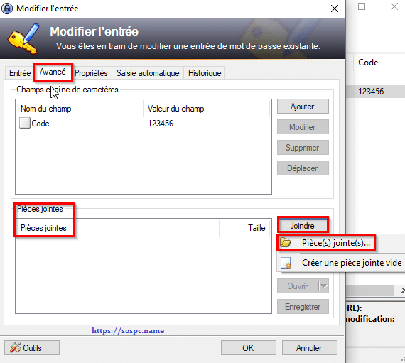 KeePass, tutoriel image 12
