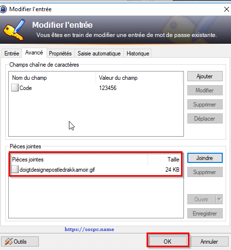 KeePass, tutoriel image 13