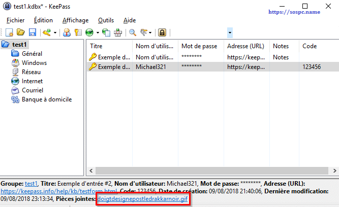 KeePass, tutoriel image 14