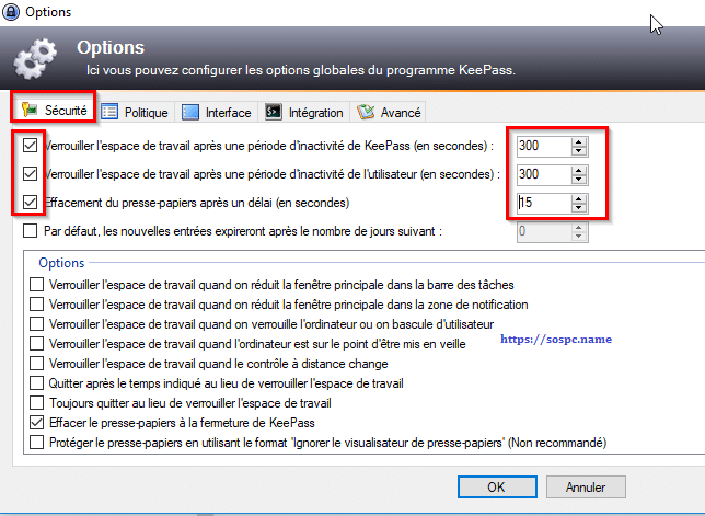 KeePass, tutoriel image 3