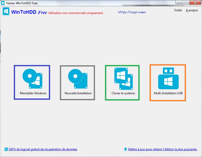comment installer windows 7 sans cd ni cle usb