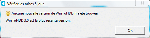 WinToHDD réinstaller Windows sans DVD, ni Clé USB tutoriel image 8