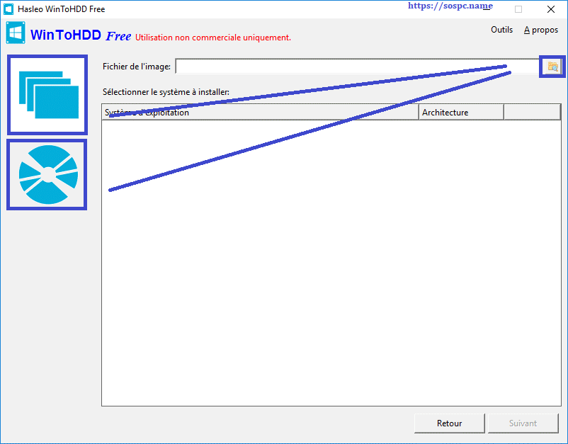 WinToHDD réinstaller Windows sans DVD, ni Clé USB tutoriel image 13