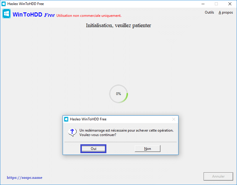 WinToHDD réinstaller Windows sans DVD, ni Clé USB tutoriel image 19