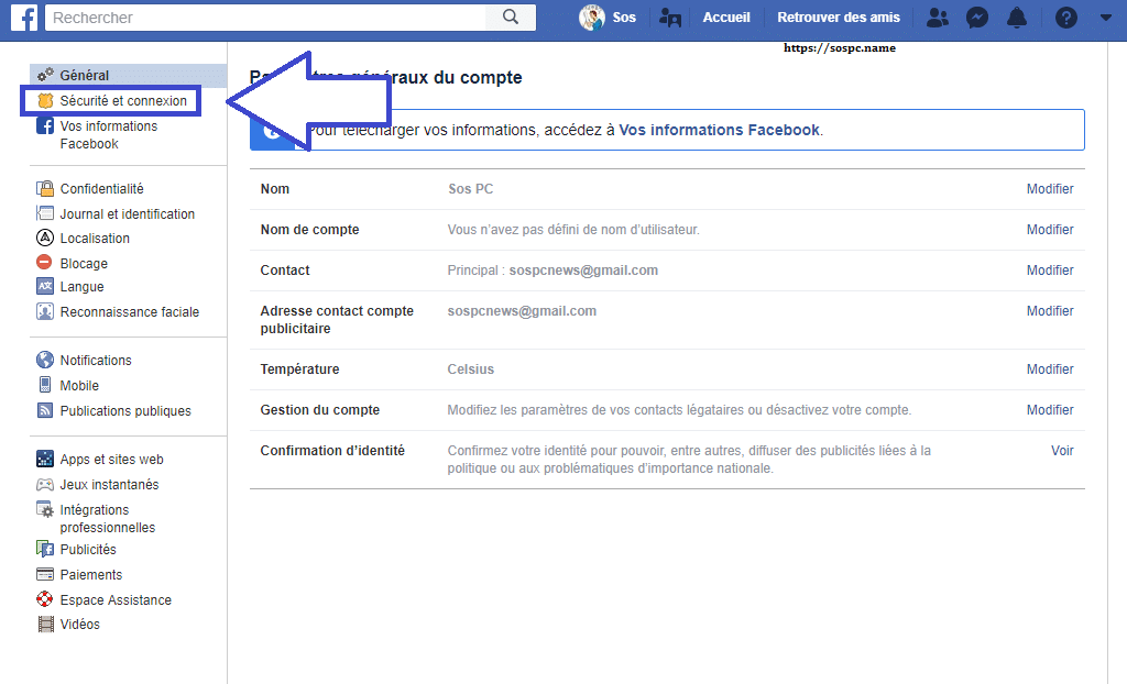 Facebook 50 millions de comptes piratés, capture 2