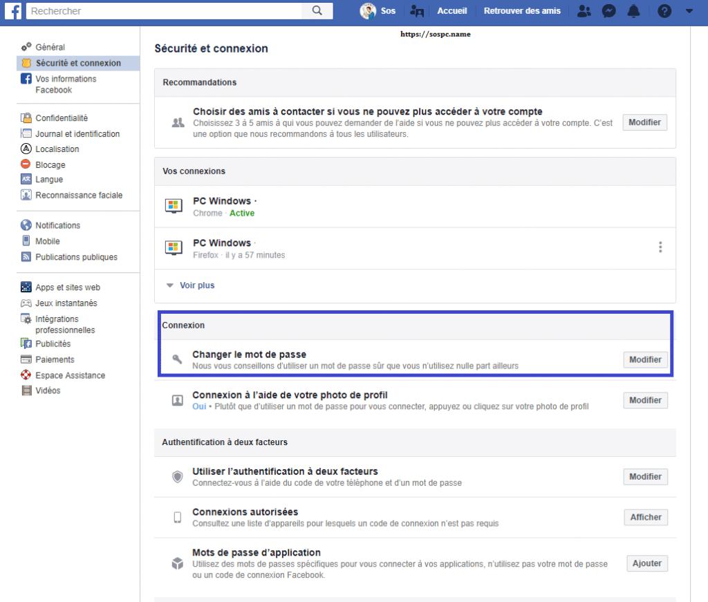 Facebook 50 millions de comptes piratés, capture 3