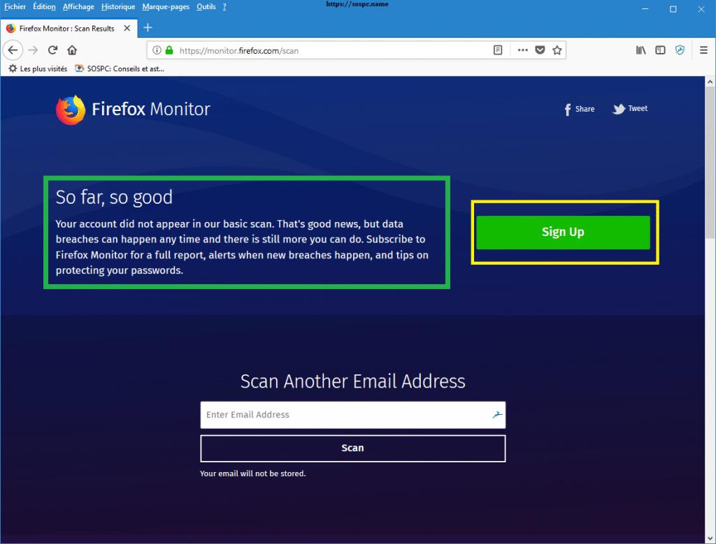 Firefox Monitor capture 3