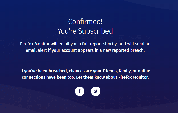Firefox Monitor capture 5