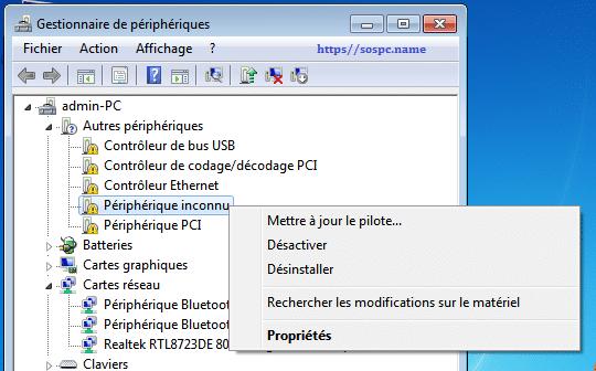 telecharger pilote carte reseau windows 7 64 bits