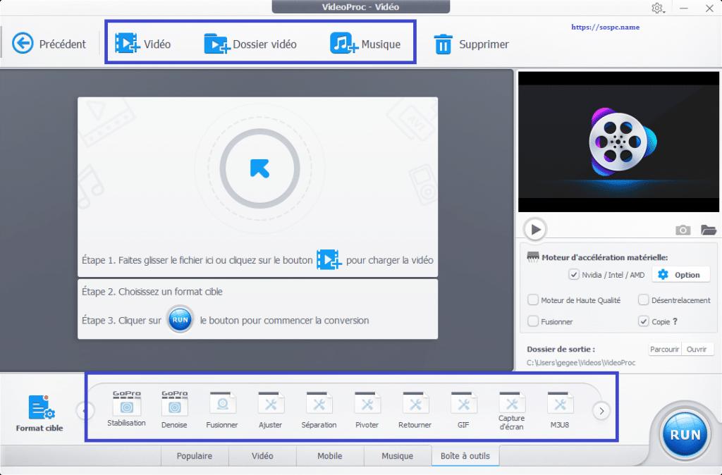 VideoProc un logiciel de traitement vidéo puissant et complet image 8
