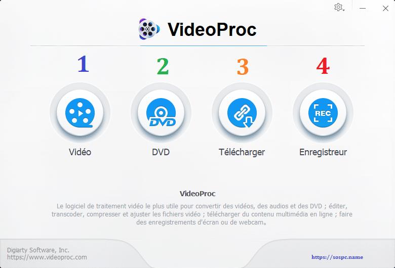 VideoProc un logiciel de traitement vidéo puissant et complet image 7