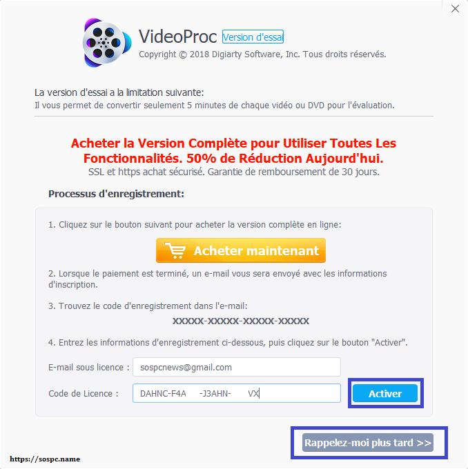 VideoProc un logiciel de traitement vidéo puissant et complet image 3