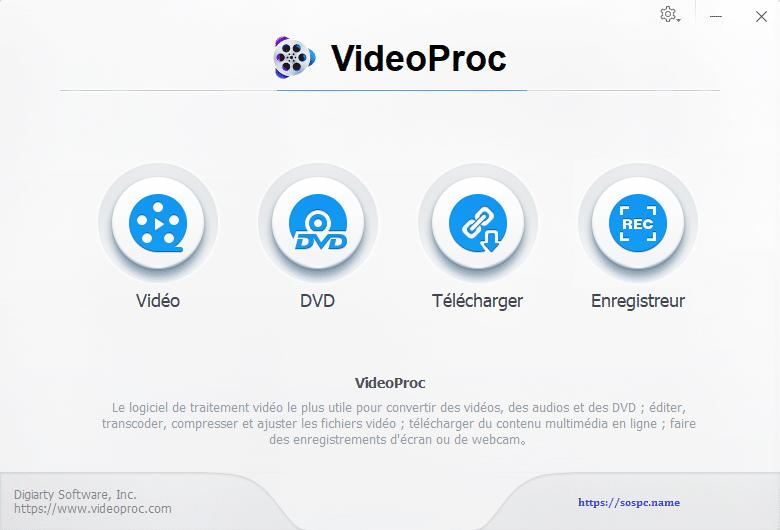 VideoProc un logiciel de traitement vidéo puissant et complet image 4
