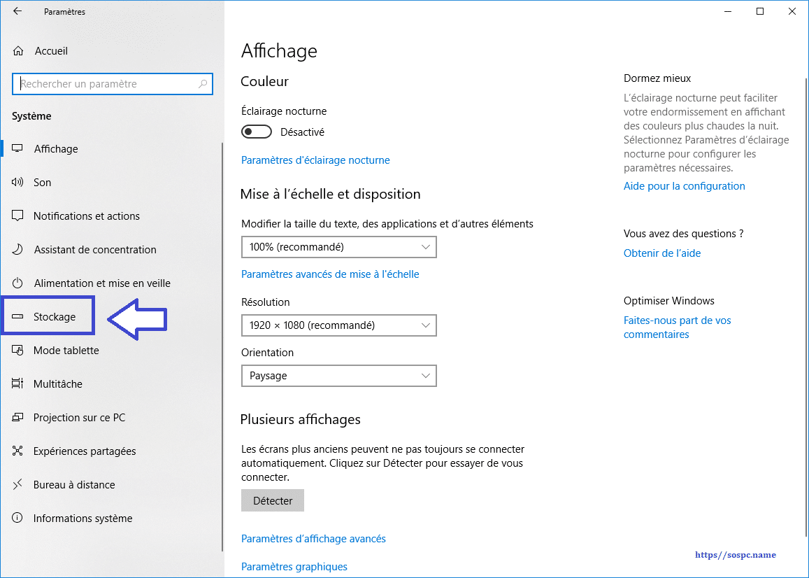 Windows 10 1803 : supprimer les fichiers inutiles www.sospc.name image 4