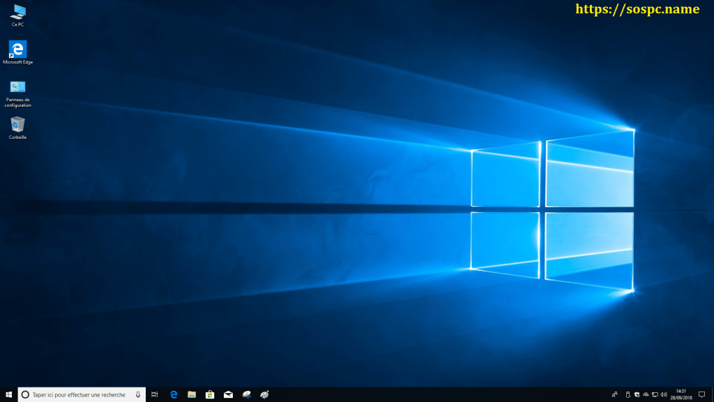 Windows 10 Redstone 5, 1809 tutoriel capture 16