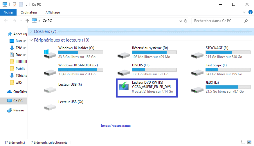Windows 10 Redstone 5, 1809 tutoriel capture 2