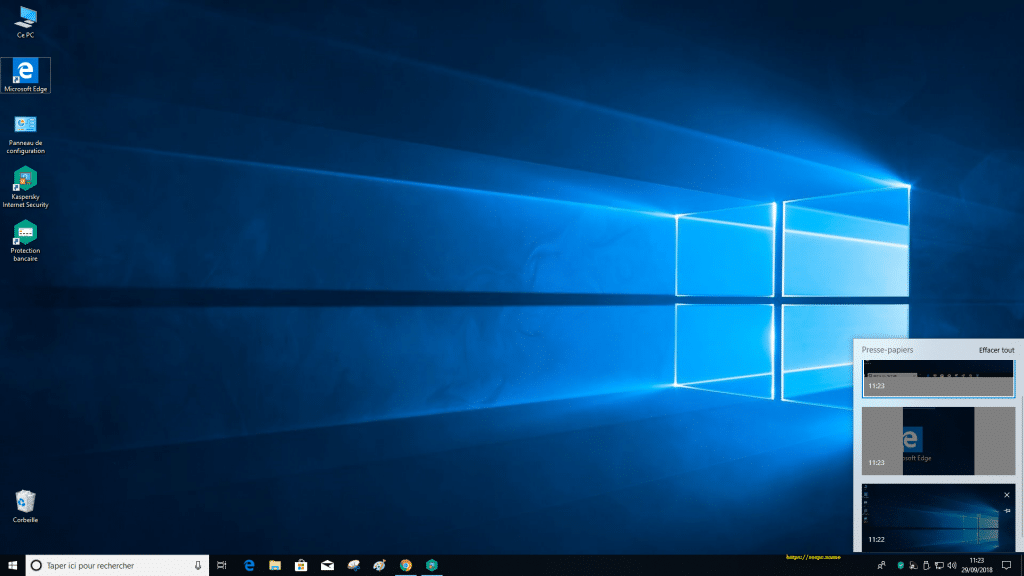 Windows 10 Redstone 5, 1809 tutoriel capture 29