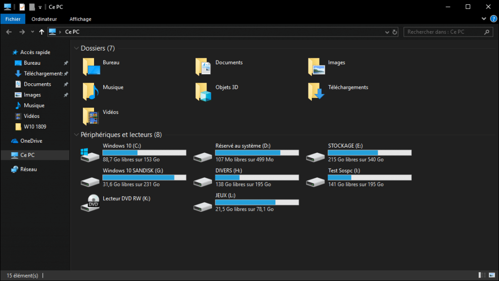 Windows 10 Redstone 5, 1809 les principales nouveautés.