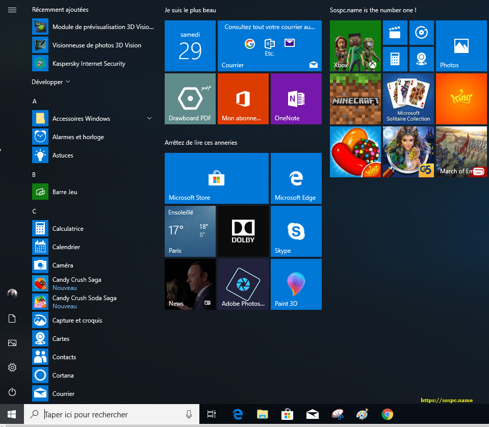 Windows 10 Redstone 5, 1809 tutoriel capture 31