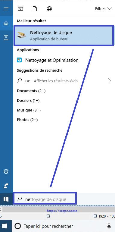 comment supprimer les fichiers inutiles avec Windows 10