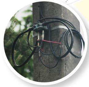 Câble coaxial extérieur 1
