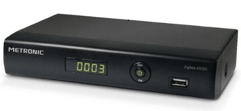 Adaptateur TNT HD Haute-définition pour enregistrer ses programmes sur Disque Dur ou Clé USB.