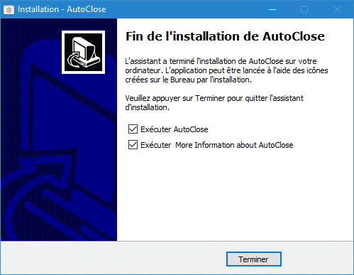 Autoclose installation 3