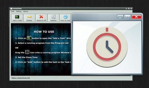 AutoClose : programmer l'arrêt de certains programmes ou de votre ordinateur.