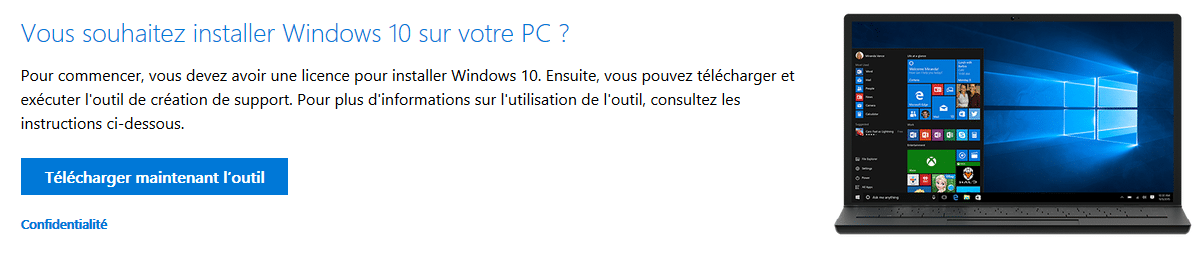 télécharger Windows 10 2004