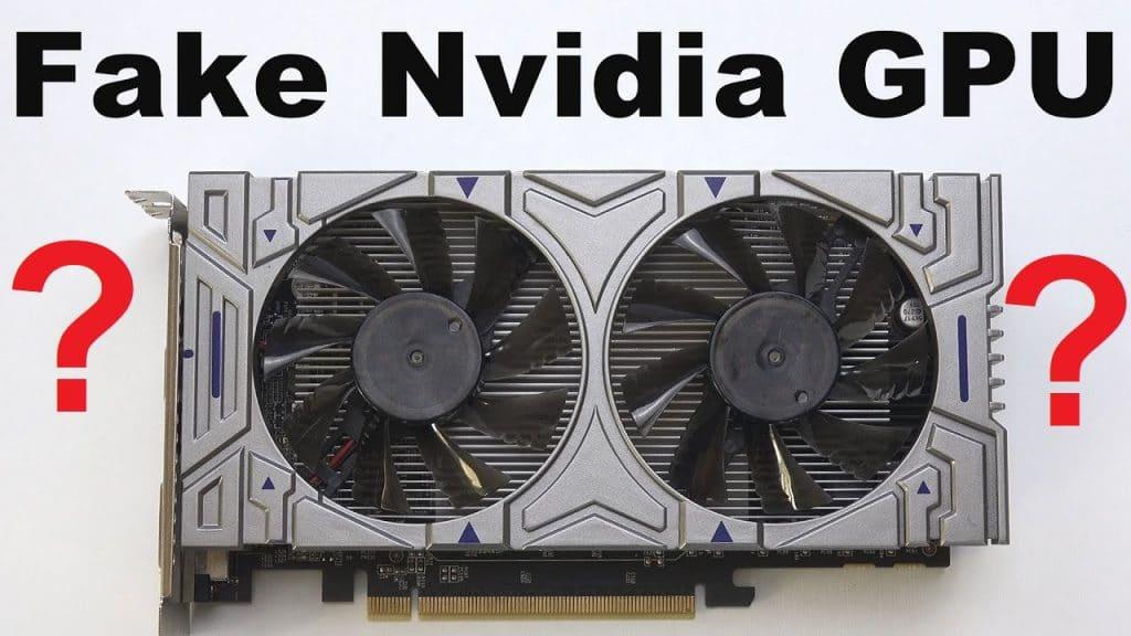 Actu en bref : utilisez-vous une fausse Carte Graphique NVIDIA ?