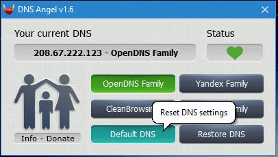 DNS Angel : protégez vos enfants capture 6