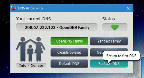 DNS Angel : protégez vos enfants capture 7