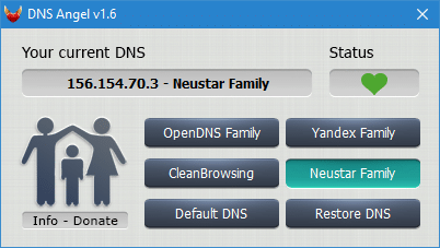 DNS Angel tutoriel complet capture 2