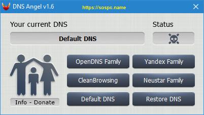 DNS Angel : protégez vos enfants capture 1