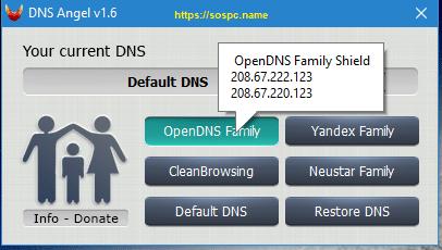 DNS Angel : protégez vos enfants capture 3