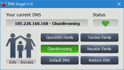 DNS Angel tutoriel complet capture 3
