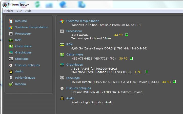 Diagnostic et dépannage d'un ordinateur devenu lent, image 41