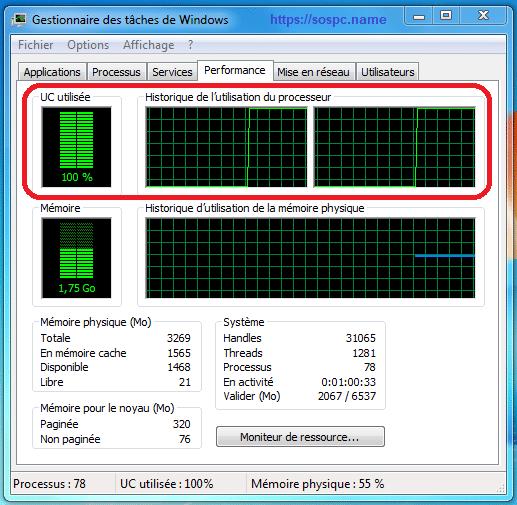 dépannage d'un ordinateur devenu lent, tutoriel complet https://sospc.name
