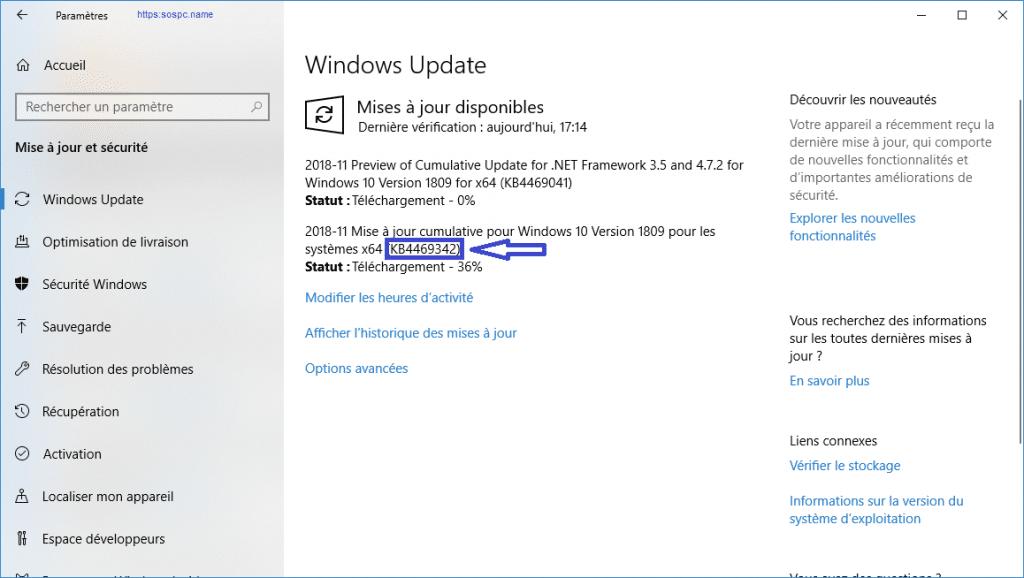 Microsoft publie une mise à jour importante pour Windows 10 1809. image 1