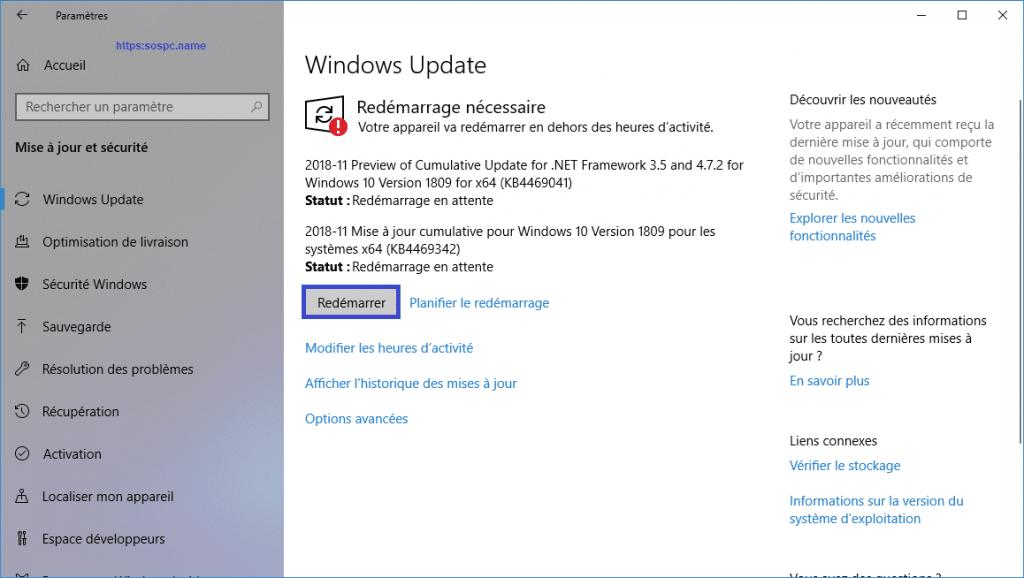 Microsoft publie une mise à jour importante pour Windows 10 1809. image 2