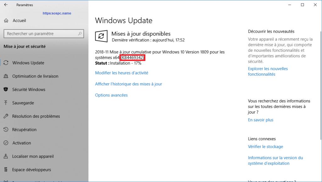 Microsoft publie une mise à jour importante pour Windows 10 1809. image 4