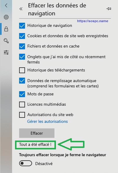 Comment supprimer les mots de passe stockés dans Edge Capture 5
