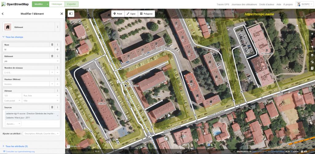 OpenStreetMapun équivalent à Google Maps image 9