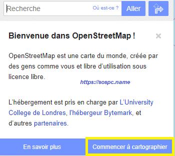 OpenStreetMapun équivalent à Google Maps
