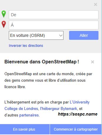 OpenStreetMapun équivalent à Google Maps image 3