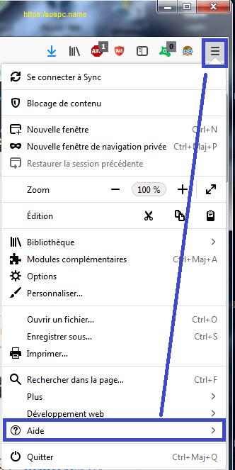 Comment Réparer Firefox Menu Aide