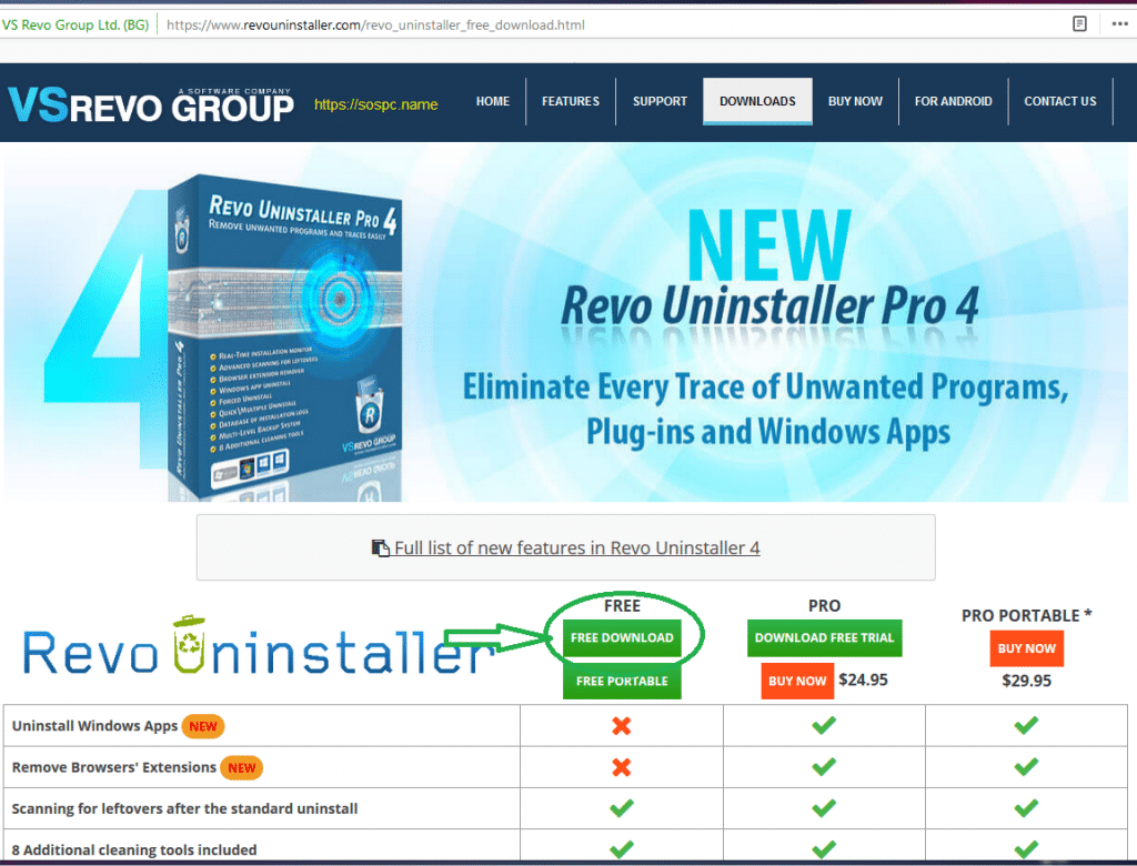 Revo Uninstaller : tutoriel complet, image 1