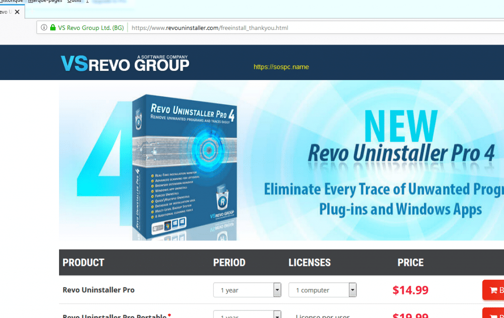 Revo Uninstaller : tutoriel complet, image 12